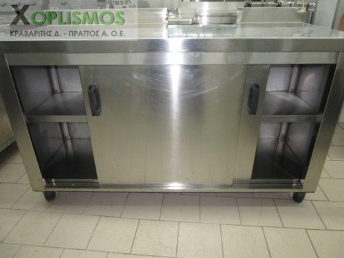 ermario inox 4 500x375 - Ερμάριο Κλειστό 150cm μεταχειρισμένο