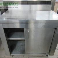 ermario kleisto inox 2 200x200 - Ερμάριο κλειστό 90cm