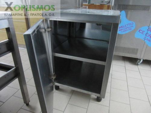 ermario steno inox 4 500x375 - Ερμάριο Κλειστό 60cm