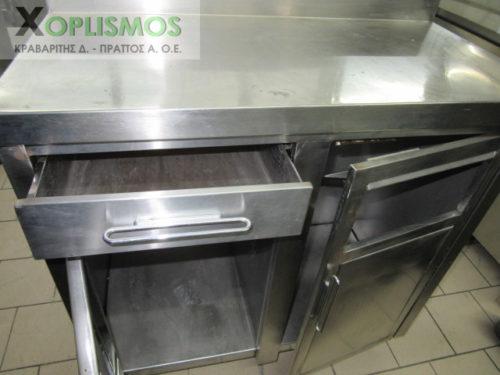 metaxeirismeno kleisto ermario 3 5 500x375 - Ερμάριο Κλειστό με συρτάρι για cafe