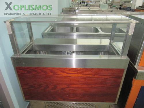 metaxeirismeno psygeio salatas 2 500x375 - Ψυγείο σαλατών 110cm