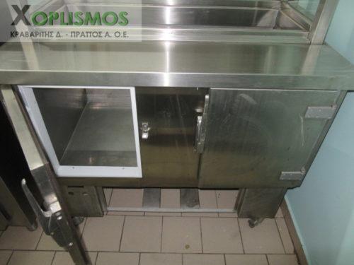 metaxeirismeno psygeio salatas 4 500x375 - Ψυγείο σαλατών 110cm