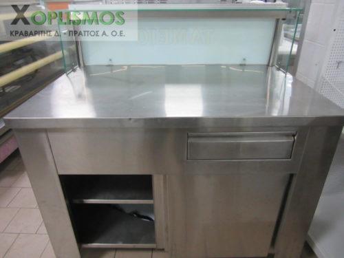 metaxeirismeno tameio inox 2 1 500x375 - Ταμείο Inox 120cm