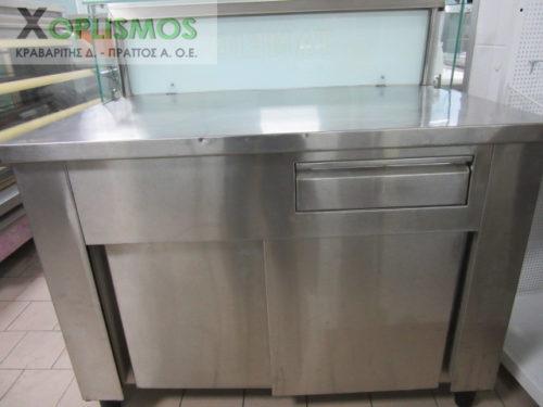 metaxeirismeno tameio inox 3 1 500x375 - Ταμείο Inox 120cm