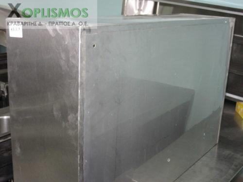 potiriera inox 4 500x375 - Ποτηριέρα 115cm