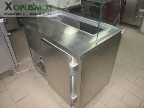 psygeio salatiera vitrina 10 500x375 - Ψυγείο σαλατών 100cm