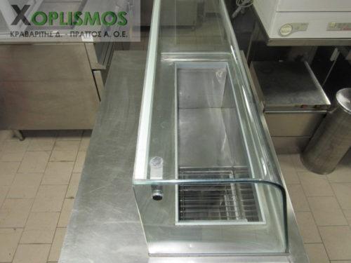 psygeio salatiera vitrina 6 500x375 - Ψυγείο σαλατών 100cm