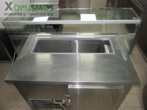 psygeio salatiera vitrina 7 500x375 - Ψυγείο σαλατών 100cm