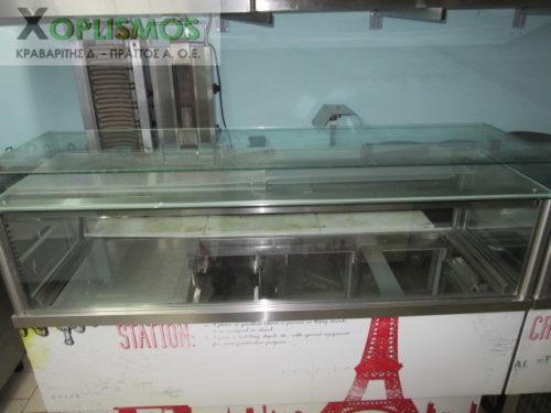 psygeio salaton me vitrina metaxeirismeno 2 500x375 - Ψυγείο Πάγκος Βιτρίνα 2m