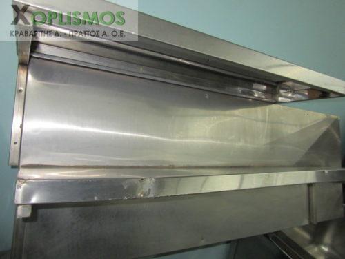 rafiera inox 3 500x375 - Ραφιέρα 140cm