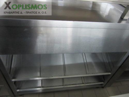 tameio paradotirio inox 1 500x375 - Ταμείο Inox με ράφια