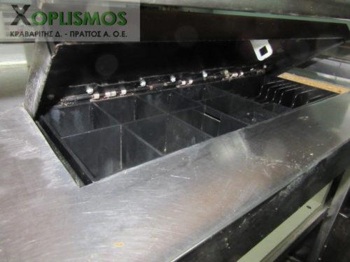 tameio paradotirio inox 3 500x375 - Ταμείο Inox με ράφια