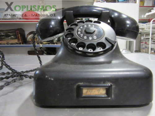 antique telephone 3 500x375 - Τηλέφωνο Αντίκα SIEMENS