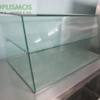 epitrapezia gyalini oudeteri vitrina 2 200x200 - Επιτραπέζια Γυάλινη Ημικλινής Βιτρίνα