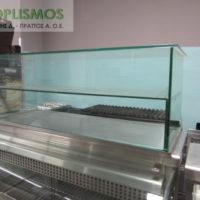 epitrapezia vitrina gyalini oudeteri 2 200x200 - Επιτραπέζια Γυάλινη Βιτρίνα
