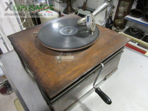grammophone antique 4 500x375 - Γραμμόφωνο Αντίκα