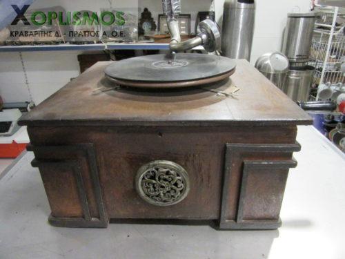 grammophone antique 6 500x375 - Γραμμόφωνο Αντίκα