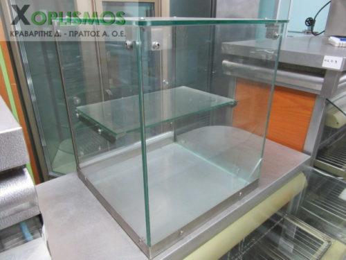 vitrina oudeteri epitrapezia gyalini 1 500x375 - Επιτραπέζια Γυάλινη Βιτρίνα Ουδέτερη