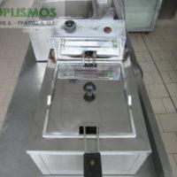 friteza moni hlektrikh 8 litres 1 200x200 - Φριτέζα Μονή 8 λίτρων