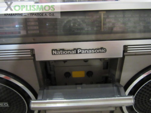 national panasonic radiokasetofono 5 500x375 - Ραδιοκασετόφωνο National Panasonic