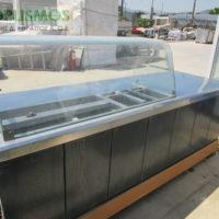 psygeio pagkos vitrina 2 200x200 - Ψυγείο σαλατών με πάγκο μεταχεισμένο 230cm