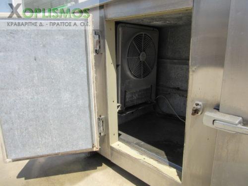 psygeio pagkos vitrina 4 500x375 - Ψυγείο σαλατών με πάγκο μεταχεισμένο 230cm