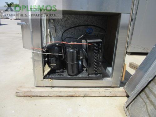 psygeio pagkos vitrina 6 500x375 - Ψυγείο σαλατών με πάγκο μεταχεισμένο 230cm