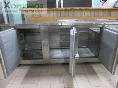 psygeio salaton me pagko 7 500x375 - Ψυγείο σαλατών με πάγκο 230cm