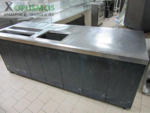 psygeio salaton me pagko 9 500x375 - Ψυγείο σαλατών με πάγκο 230cm