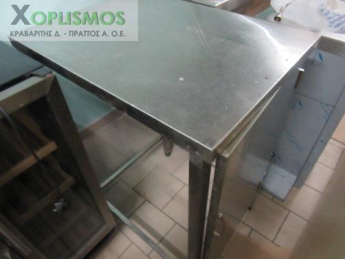 ermario anoixto inox 1 500x375 - Ερμάριο ανοιχτό 50cm