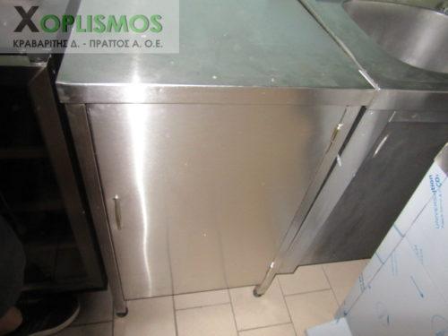 ermario anoixto inox 2 500x375 - Ερμάριο ανοιχτό 50cm