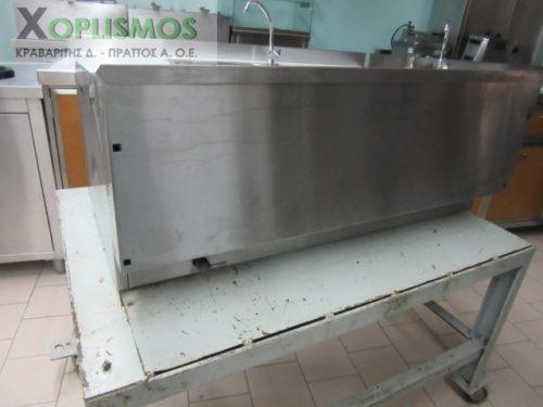 grill aeriou diplo sxariera NORTH 1 500x375 - Γκριλιέρα αερίου διπλή 1m NORTH