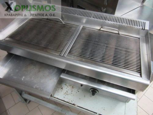 grill aeriou diplo sxariera NORTH 3 500x375 - Γκριλιέρα αερίου διπλή 1m NORTH