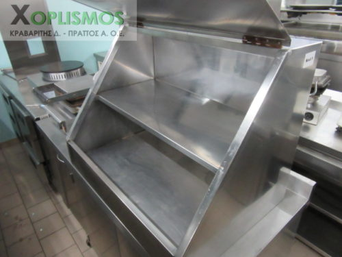 inox psomiera kleisth 1 500x375 - Inox ντουλάπι Ψωμιέρα