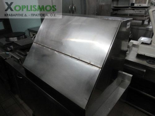 inox psomiera kleisth 2 500x375 - Inox ντουλάπι Ψωμιέρα
