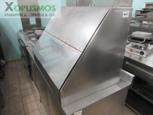 inox psomiera kleisth 4 500x375 - Inox ντουλάπι Ψωμιέρα