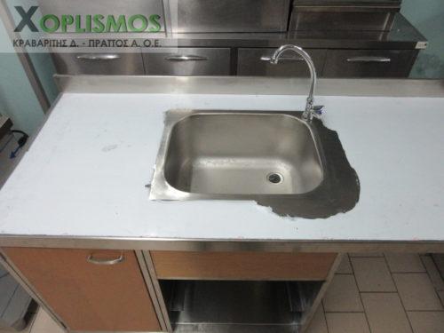 lantza me xoro gia plynthrio piaton 2 500x375 - Λάντζα με θέση για πλυντήριο πιάτων