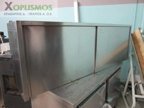 potiriera inox kleisti 2 500x375 - Ποτηριέρα κλειστή 190cm