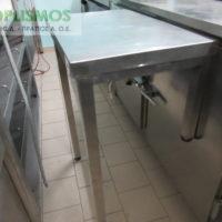 trapezi inox metaxeirismeno 2 200x200 - Τραπέζι ανοιχτό