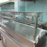 vitrina zeston tyropitiera 3 200x200 - Βιτρίνα ζεστών - Τυροπιτιέρα