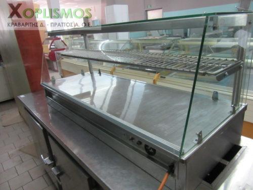 vitrina zeston tyropitiera 4 500x375 - Βιτρίνα ζεστών - Τυροπιτιέρα