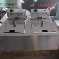 friteza diplh 14 litra 3 200x200 - Φριτέζα διπλή 14 λίτρων