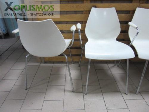 karekla aspri plasstiki me mpratso 4 500x375 - Άσπρη καρέκλα με μπράτσα