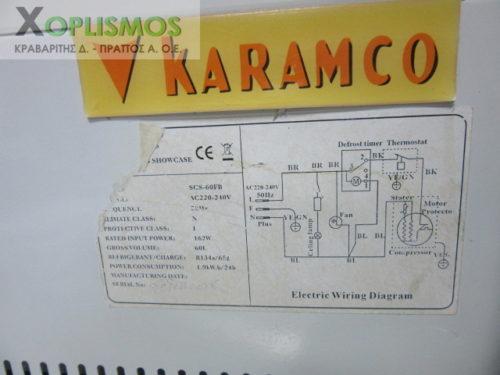psygeiaki pagkou vitrina karamco 5 500x375 - Ψυγείο βιτρίνα πάγκου KARAMCO