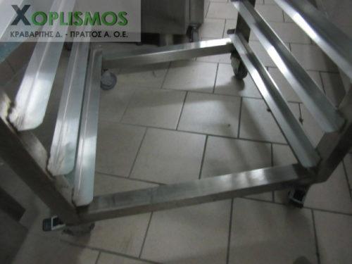troxilati rafiera 4 500x375 - Τροχήλατη inox ραφιέρα