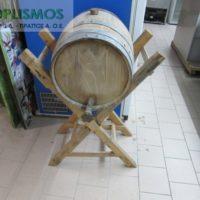 vareli xylino me vasi 1 200x200 - Ξύλινο βαρέλι κρασιού