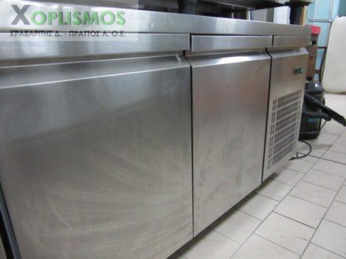 pagkos psygeio inox 2 500x375 - Πάγκος ψυγείο 1,5μ