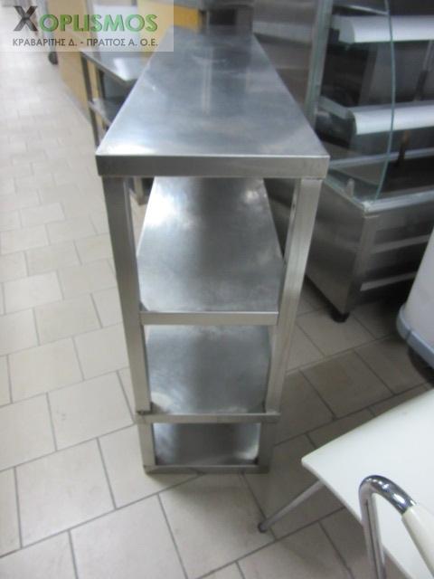 potiriera inox 3 rafia 3 - Ποτηριέρα ανοιχτή 140cm