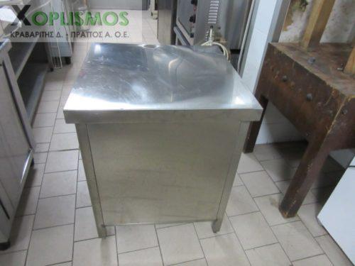 trapezi inox 1 500x375 - Τραπέζι ανοιχτό inox