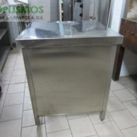 trapezi inox 2 200x200 - Τραπέζι ανοιχτό inox